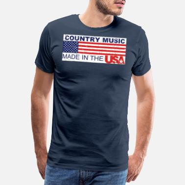 Shirt Country USA - Men's Premium T-Shirt