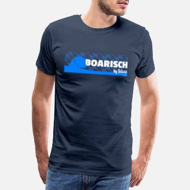 Regensburg Boarisch By Nature - Men's Premium T-Shirt