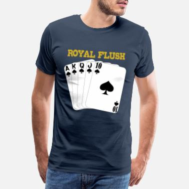 Royal Flush Royal Flush - Mannen premium T-shirt
