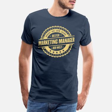 Marketing Bester Marketing Manager - Männer Premium T-Shirt