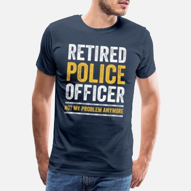 Pensionierung RETIRED POLICE OFFICER Polizist in Pension Rente - Männer Premium T-Shirt