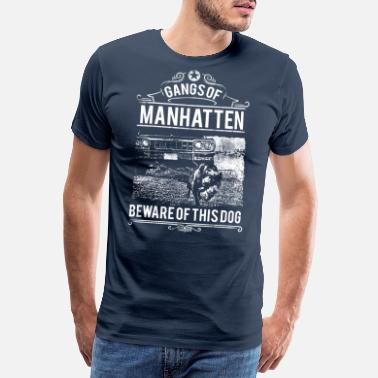Gang Gangster Gangs of Manhattan Rap Hip Hop Music T-Shirt - Men's Premium T-Shirt