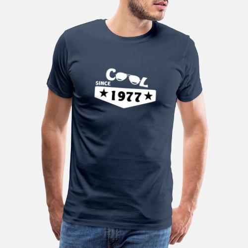 Cadeau Pour 40 Ans Né En 1977 T Shirt Premium Homme Spreadshirt