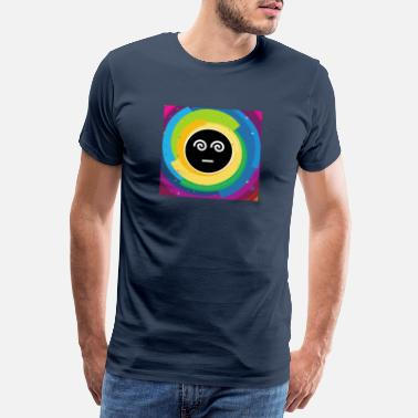 Illusion Trance Psychedelic bunt - Männer Premium T-Shirt