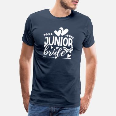Engagement Mariée junior - T-shirt premium Homme