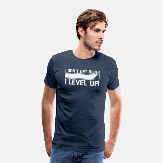 Gaming T-shirts - Gaming Gamer - Premium T-shirt herr marinblå