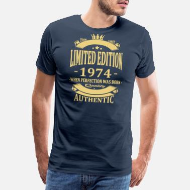 70s Limited Edition 1974 - Premium T-skjorte for menn