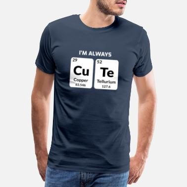 Educator Science Lovers Teacher Student Funny Sayings Gift - Men's Premium T-Shirt