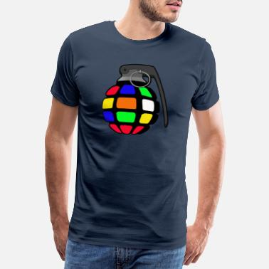 Sex Bomb Magic cube grenade - Men's Premium T-Shirt