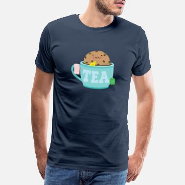 Cookie Monster Cookies tea biscuits sweet - Men's Premium T-Shirt