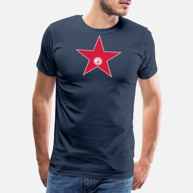 Icon walk of fame + your name - Premium T-shirt mænd