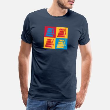 Country Music Xylophone - Xylophon - Music - Musik - Musique - Men's Premium T-Shirt