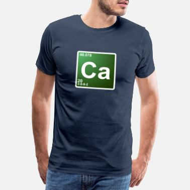 Tv Ca calcium chemie element 20 - Mannen premium T-shirt