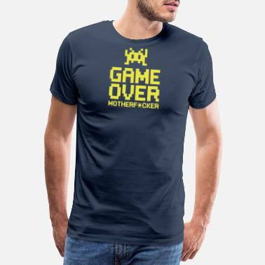 Head Shot game over motherf*cker - Premium T-shirt herr