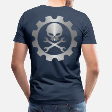 Engineer mechanic_engineer - Miesten premium t-paita