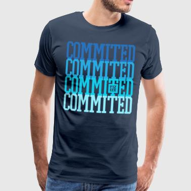 Commited to your goals - Men's Premium T-Shirt
