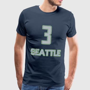 Seattle - Männer Premium T-Shirt