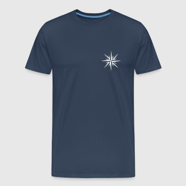Compass - Compass Rose des vents Nautic - T-shirt Premium Homme