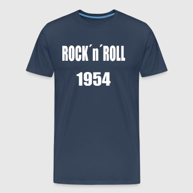 Rocknroll White - Men's Premium T-Shirt