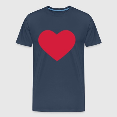 Heart Love - T-shirt Premium Homme