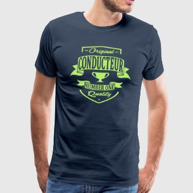 Conducteur - T-shirt Premium Homme