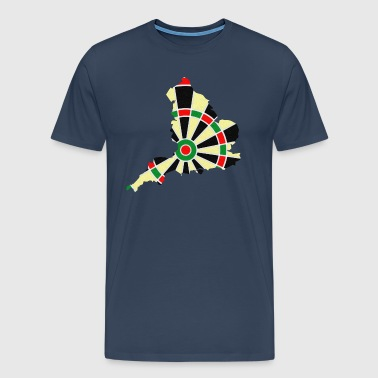 England dartboard - Men's Premium T-Shirt