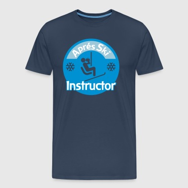 Aprés Ski Instructor - Men's Premium T-Shirt