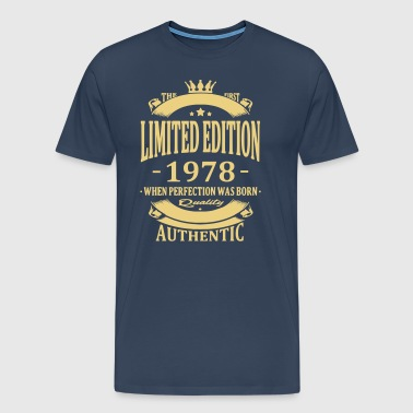 Limited Edition 1978 - Herre premium T-shirt