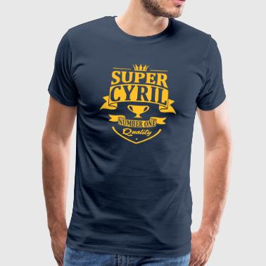 Super Cyril - T-shirt Premium Homme