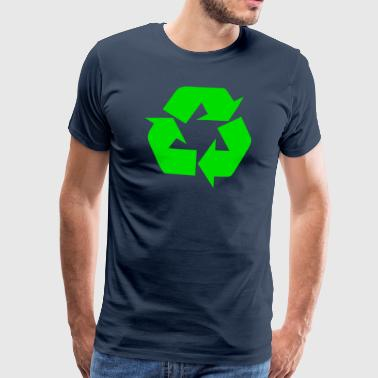 Earth Day Recycle - Maglietta Premium da uomo