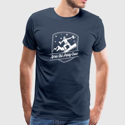 Apres Ski Party Crew - Herre premium T-shirt