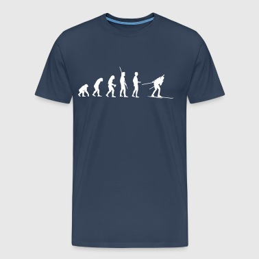Evolution Biathlon - Premium-T-shirt herr