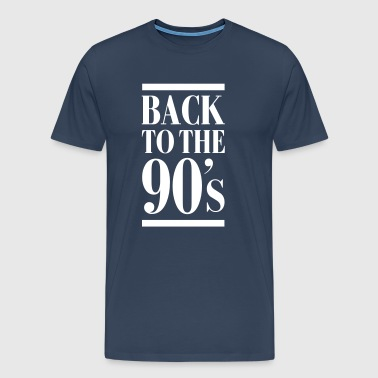 Back To The 90´s - Mannen Premium T-shirt