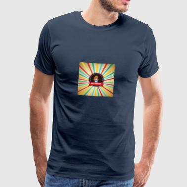 Happy Barbarians - Princess Retro Logo - Men's Premium T-Shirt