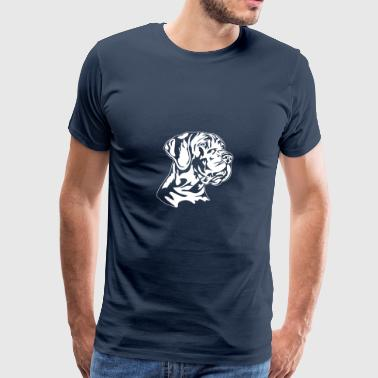 Great Dane German - Great Dane - T-shirt Premium Homme