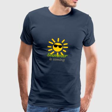 SummerIsComing - Premium T-skjorte for menn