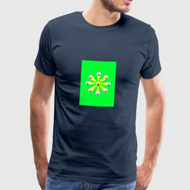 Subbuteo flower - Men's Premium T-Shirt