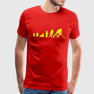 evolution rink hockey player1 bebe adult - T-shirt Premium Homme