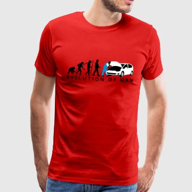 evolution_kfz_mechaniker_122013_a_3c_2 - Männer Premium T-Shirt