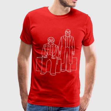 Marx-Engels-Forum Berlin - Men's Premium T-Shirt