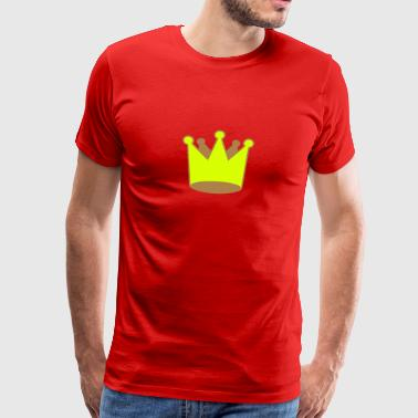 Krone Crown 3D Comic - Männer Premium T-Shirt