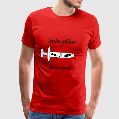 Injection quotidienne fitness - T-shirt Premium Homme