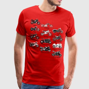 Motorcycle Styles - Men's Premium T-Shirt
