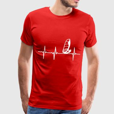 Windsurfers ECG - Men's Premium T-Shirt