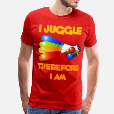 Juggling I Juggle - Men's Premium T-Shirt