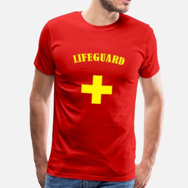 Baywatch Lifeguard - Men's Premium T-Shirt