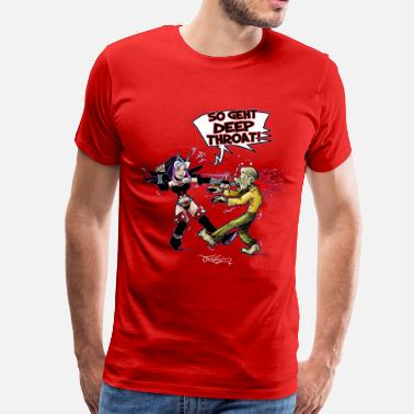 Deep Throat Deep Throat - Männer Premium T-Shirt