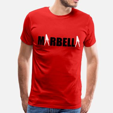 Girls Holiday Marbella sexy Girls holiday Spain - Men's Premium T-Shirt