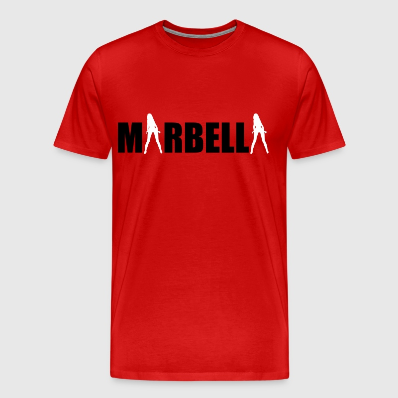 Marbella sexy Girls holiday Spain - Men's Premium T-Shirt