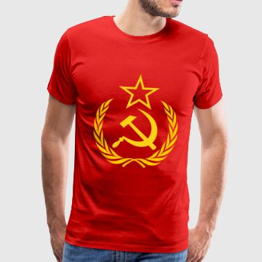 Soviet Union Communism USSR USSR Russia - Men's Premium T-Shirt